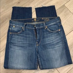 7 For All Mankind Jeans - 7 for All Mankind cut of Capri jeans